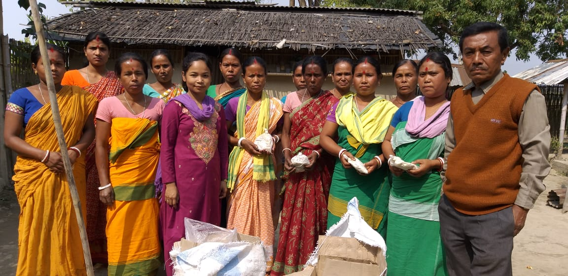 Strengthen Livelihood Security of Women Mushroom Growers
